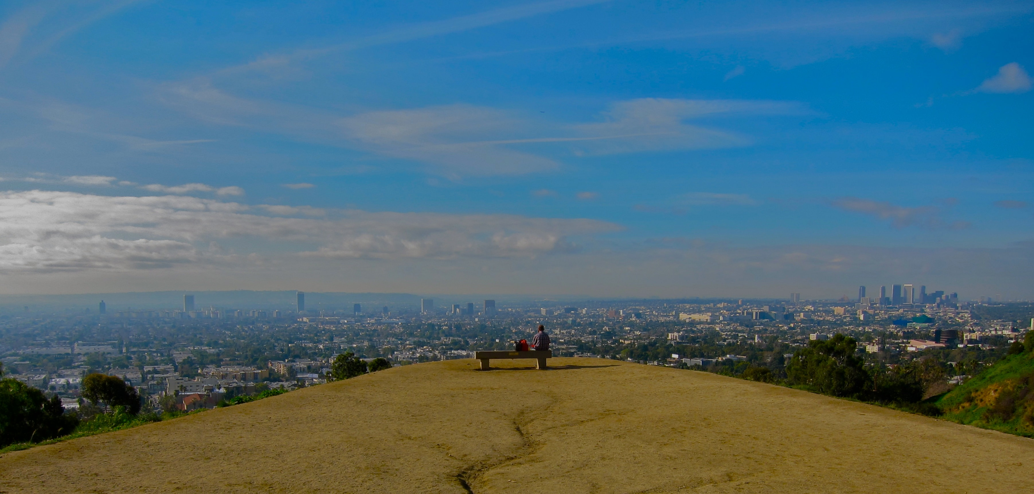 Runyon Canyon Trail Lookout
