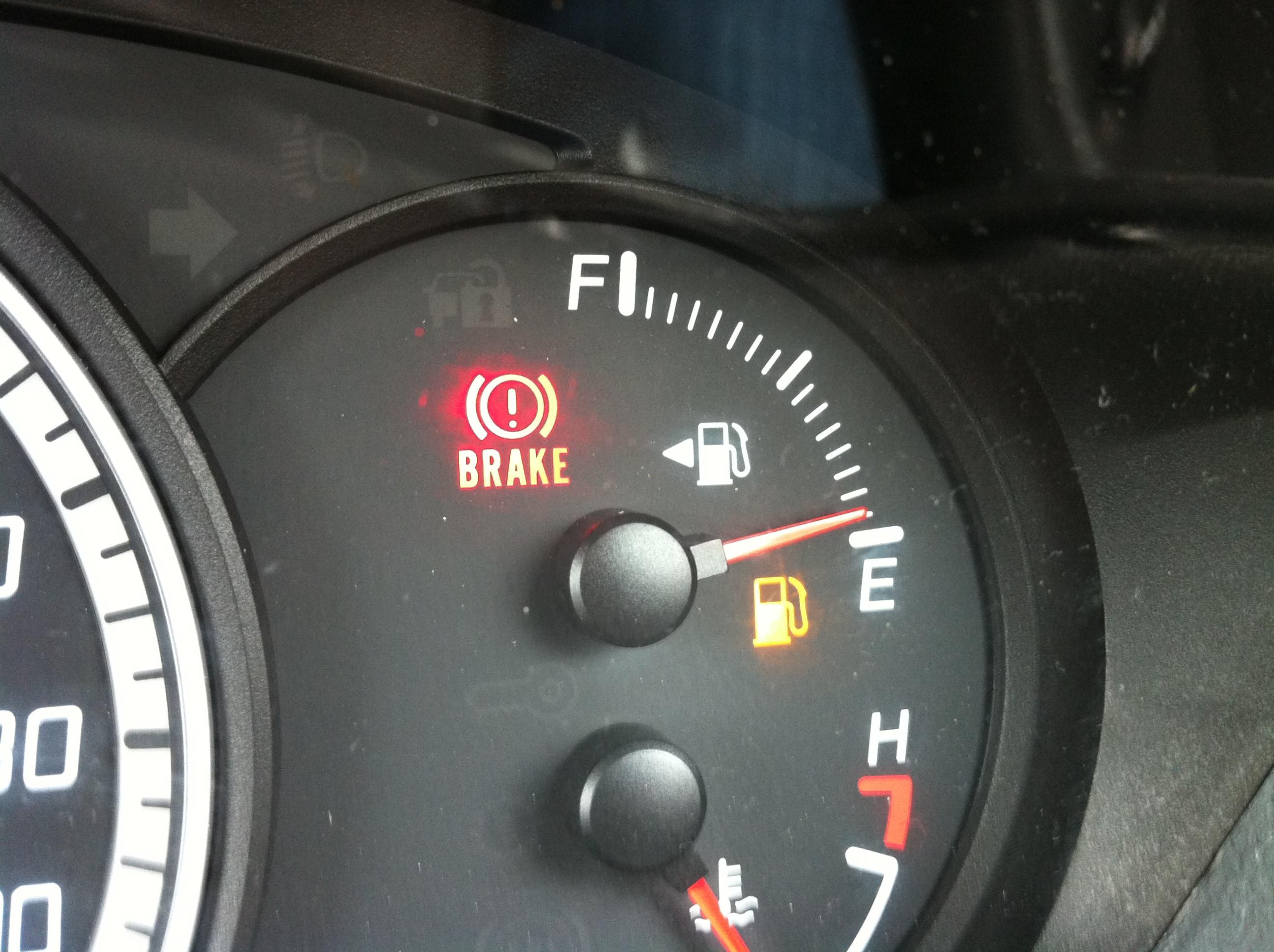 Fuel Gauge Running on Empty