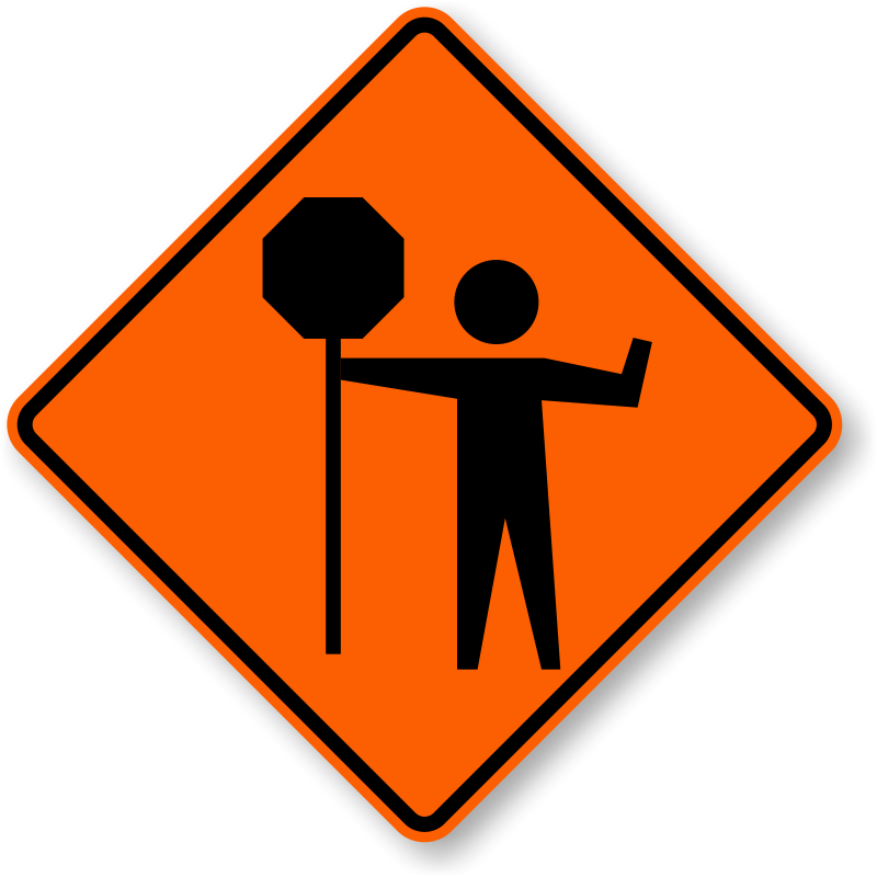 Road sign safety