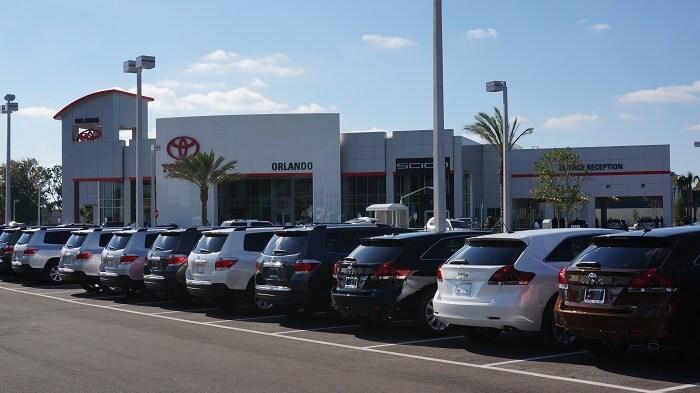 Orlando Toyota cars