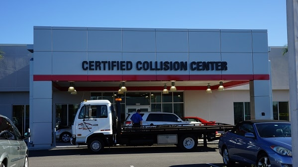 Toyota Collision Center in Orlando
