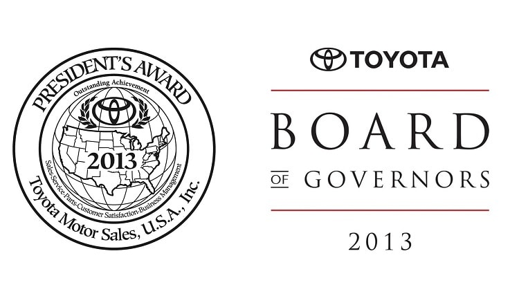 new Toyota awards in Central Florida