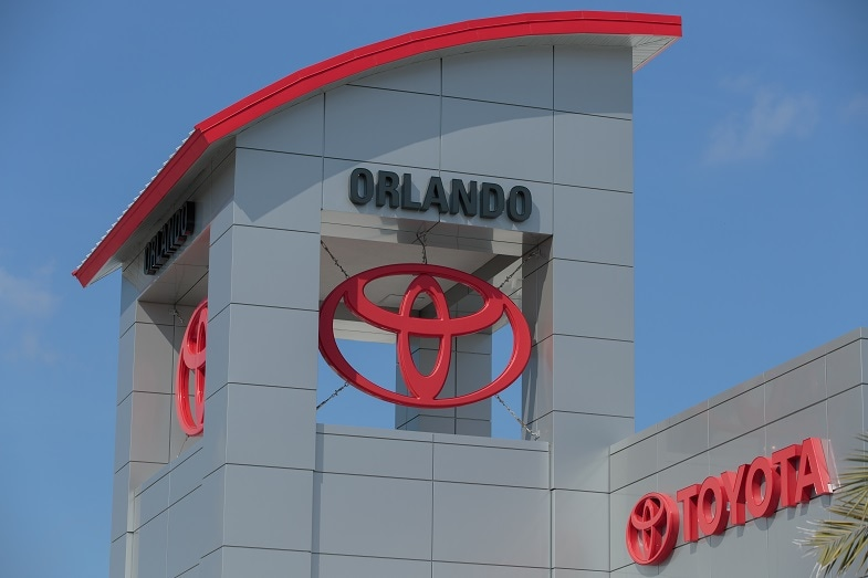 new Toyota dealer in Orlando
