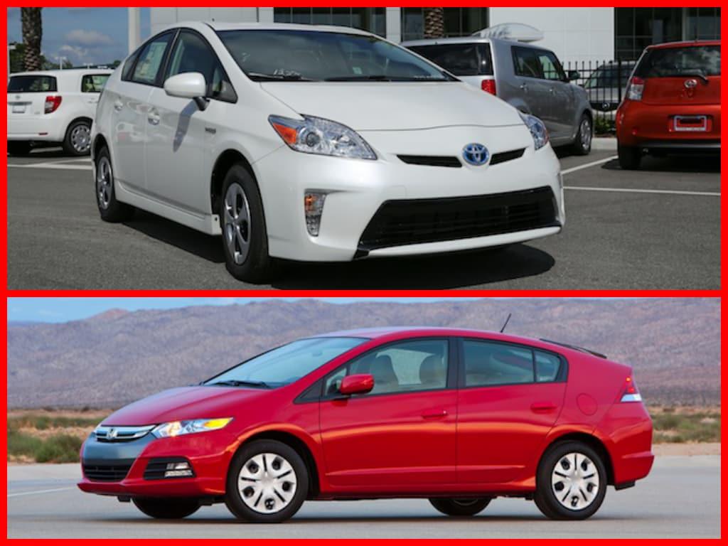 Orlando Toyota Prius vs Honda Insight