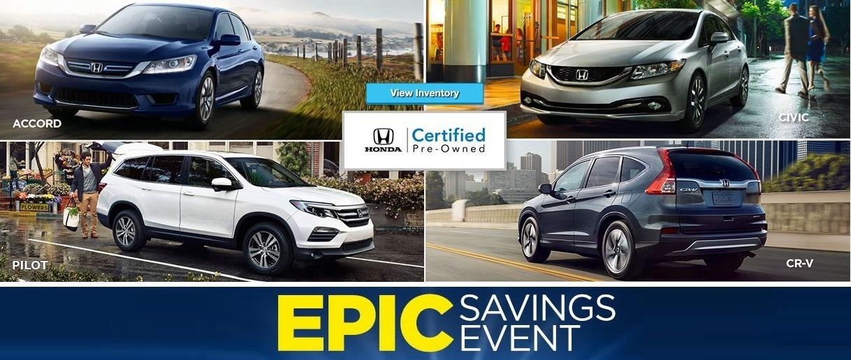 Certified Used Car Honda Inventory Sale Bay Area San
