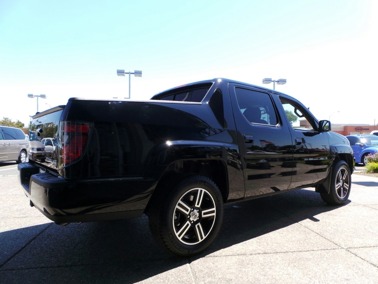 Honda ridgeline truck for Honda of seattle service