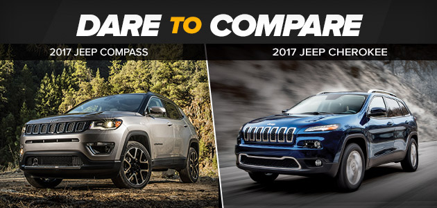 Jeep Cherokee vs. Jeep Compass