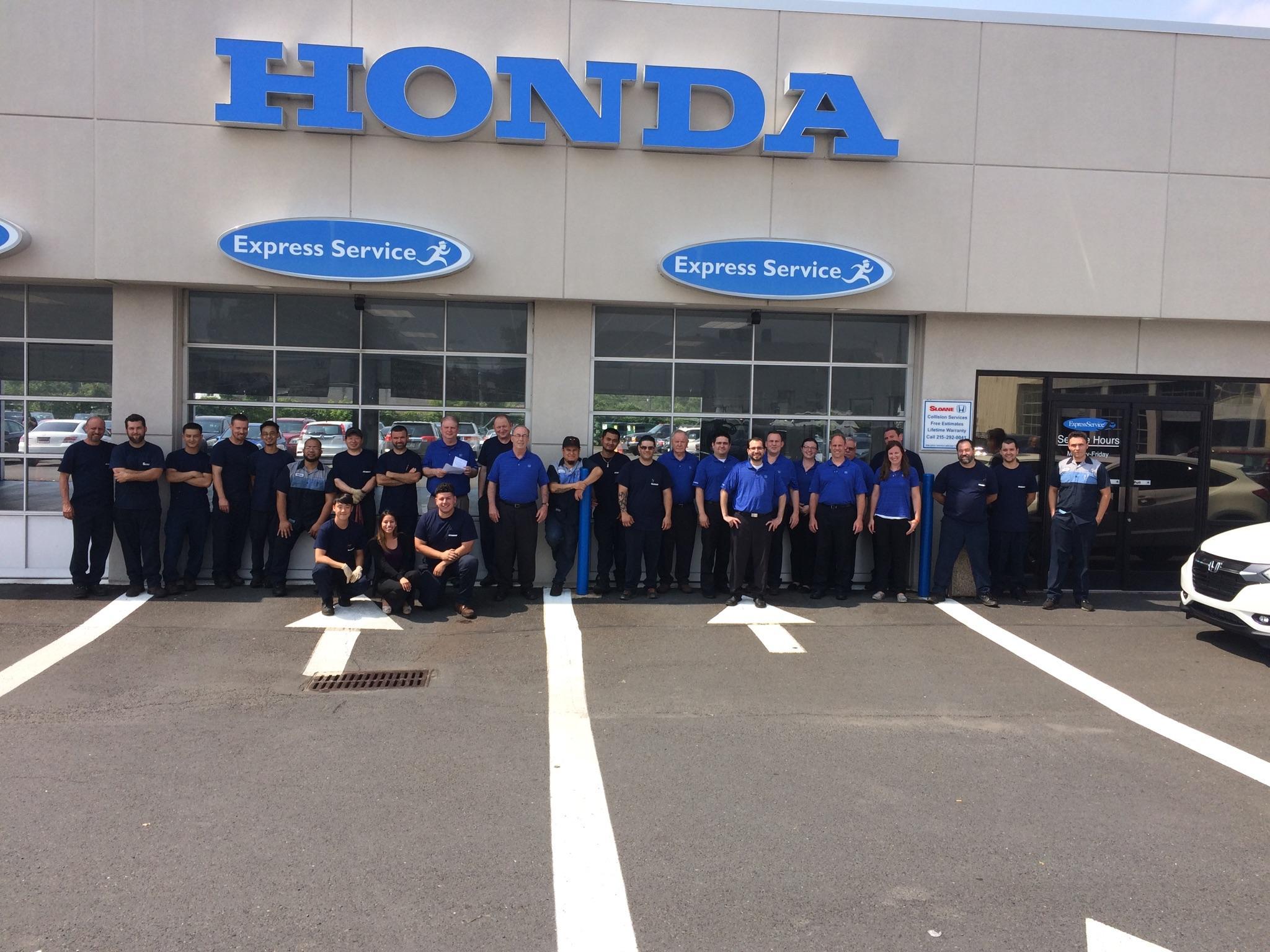 Sloane honda philadelphia staff for Honda dealership philadelphia pa