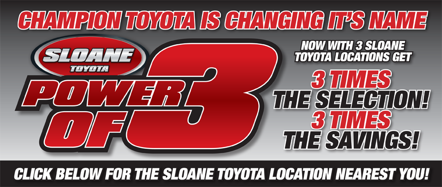 Welcome To Sloane Toyota New Toyota Dealership In