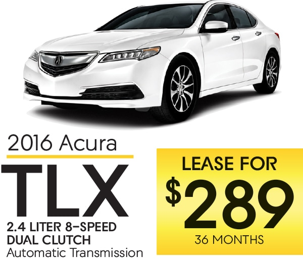 Certified Pre Owned Acura Rdx: Get A New 2016 Acura TLX. Lease Offers And Lease Loyalty