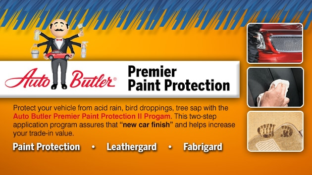 Auto butler paint protection leathergard and fabrigard at for Premier paint protection