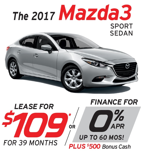 New Mazda Mazda3 Lease Or Finance Offers At Smail Mazda In