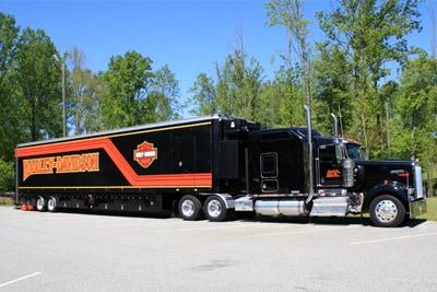 Harley-Davidson®Demo Truck