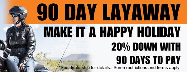 90 Day Layaway