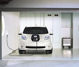charging a 2017 Nissan LEAF