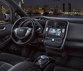 2017 Nissan LEAF Interior