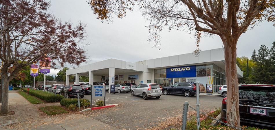 Exterior view of Volvo Cars San Jose Serving Santa Clara