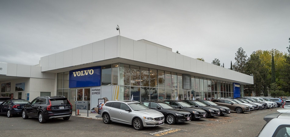 Exterior view of Volvo Cars San Jose Serving Cupertino