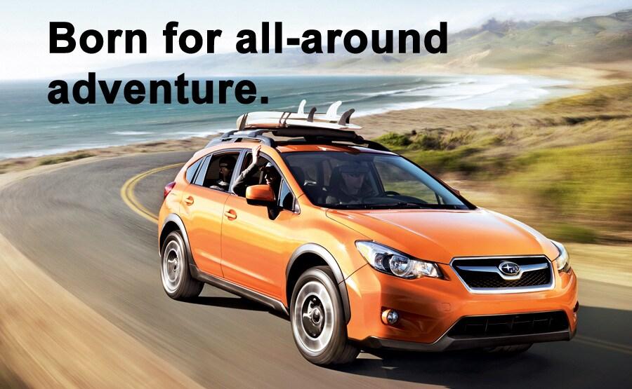Born for all-around adventure.