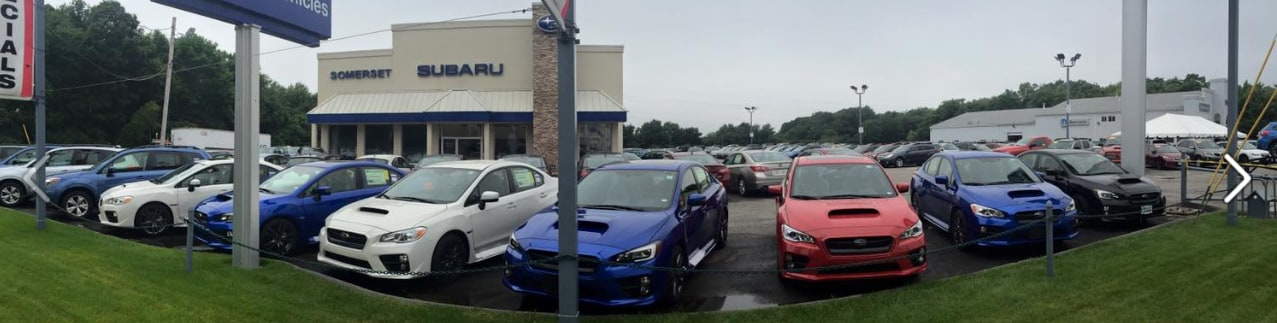 Somerset Subaru Dealership near Rhode Island