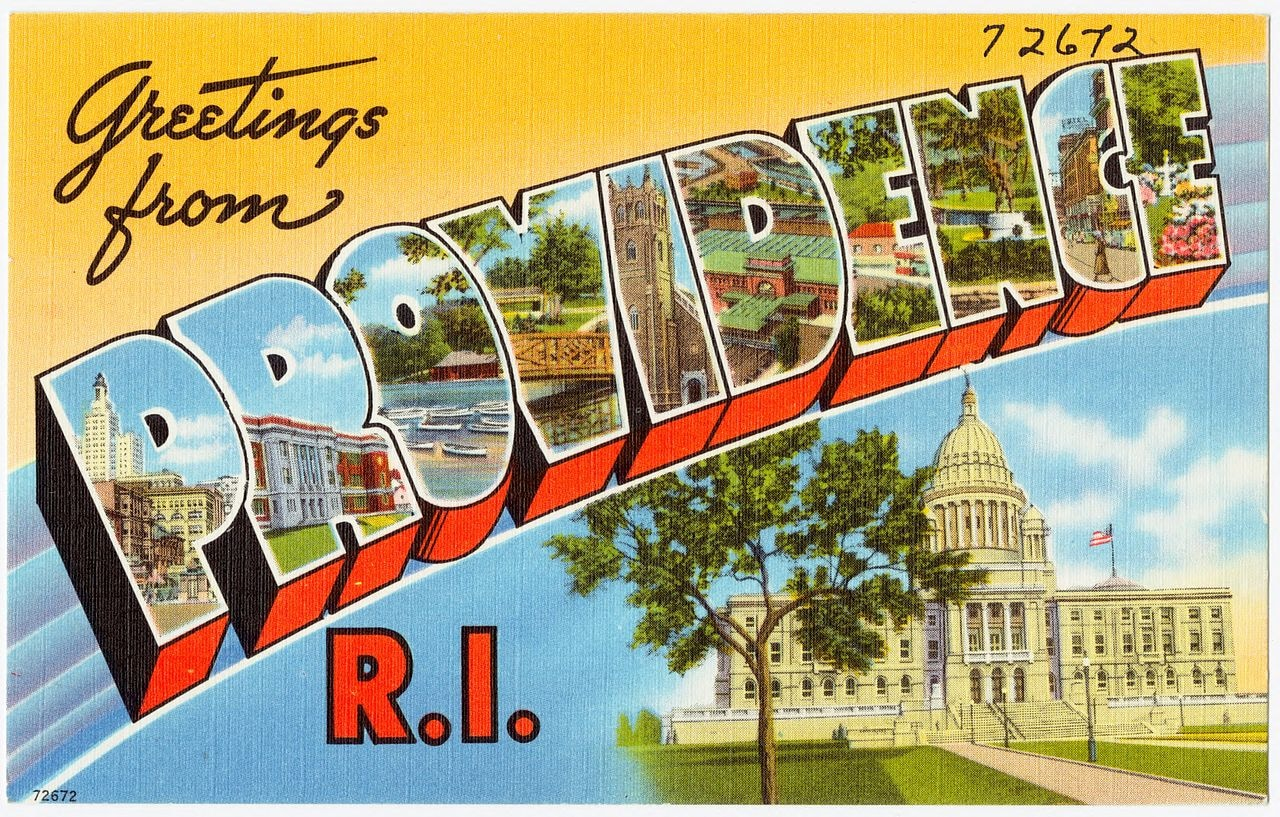 Providence, RI Post Card