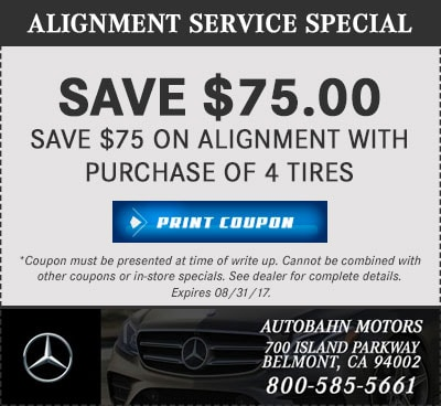 Mercedes benz auto repair service in belmont near san for Mercedes benz service b specials