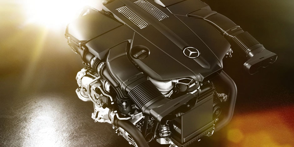 mercedes-benz engine title=