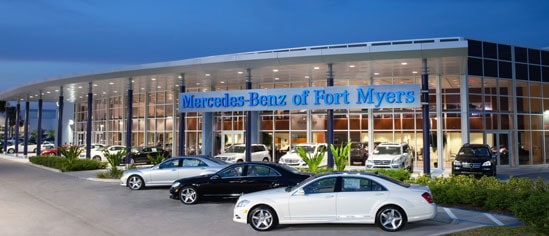 Mercedes benz of fort myers mercedes benz dealership in for Mercedes benz dealers in new jersey