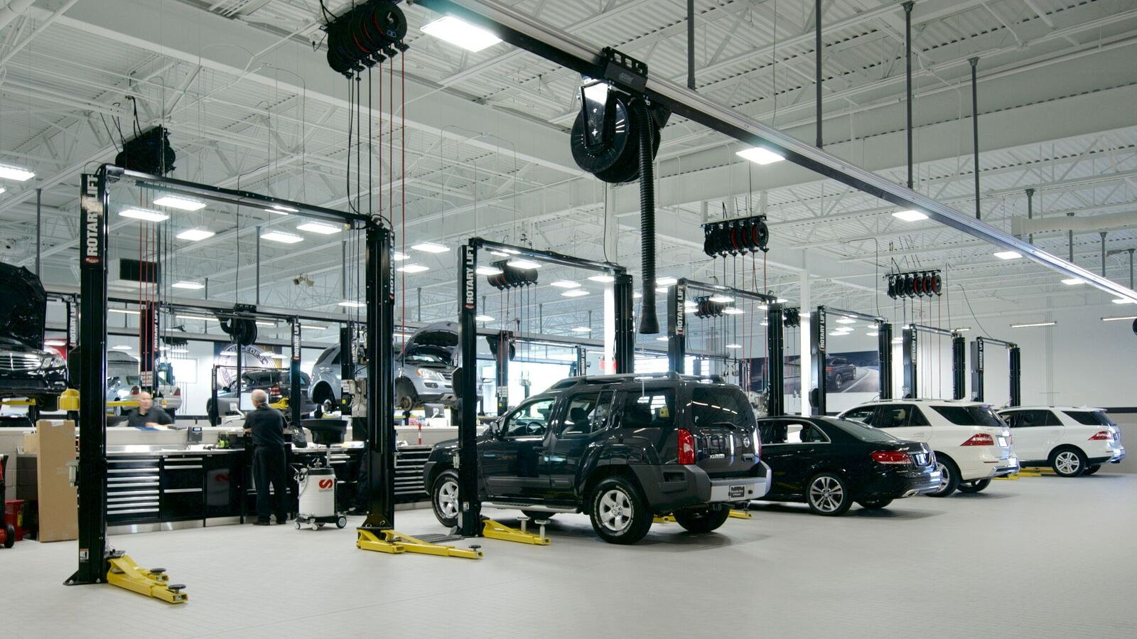 Mercedes benz of mckinney service center for Mercedes benz rockville centre service