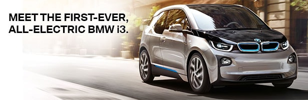 Meet the First-Ever All-Electric BMW i3