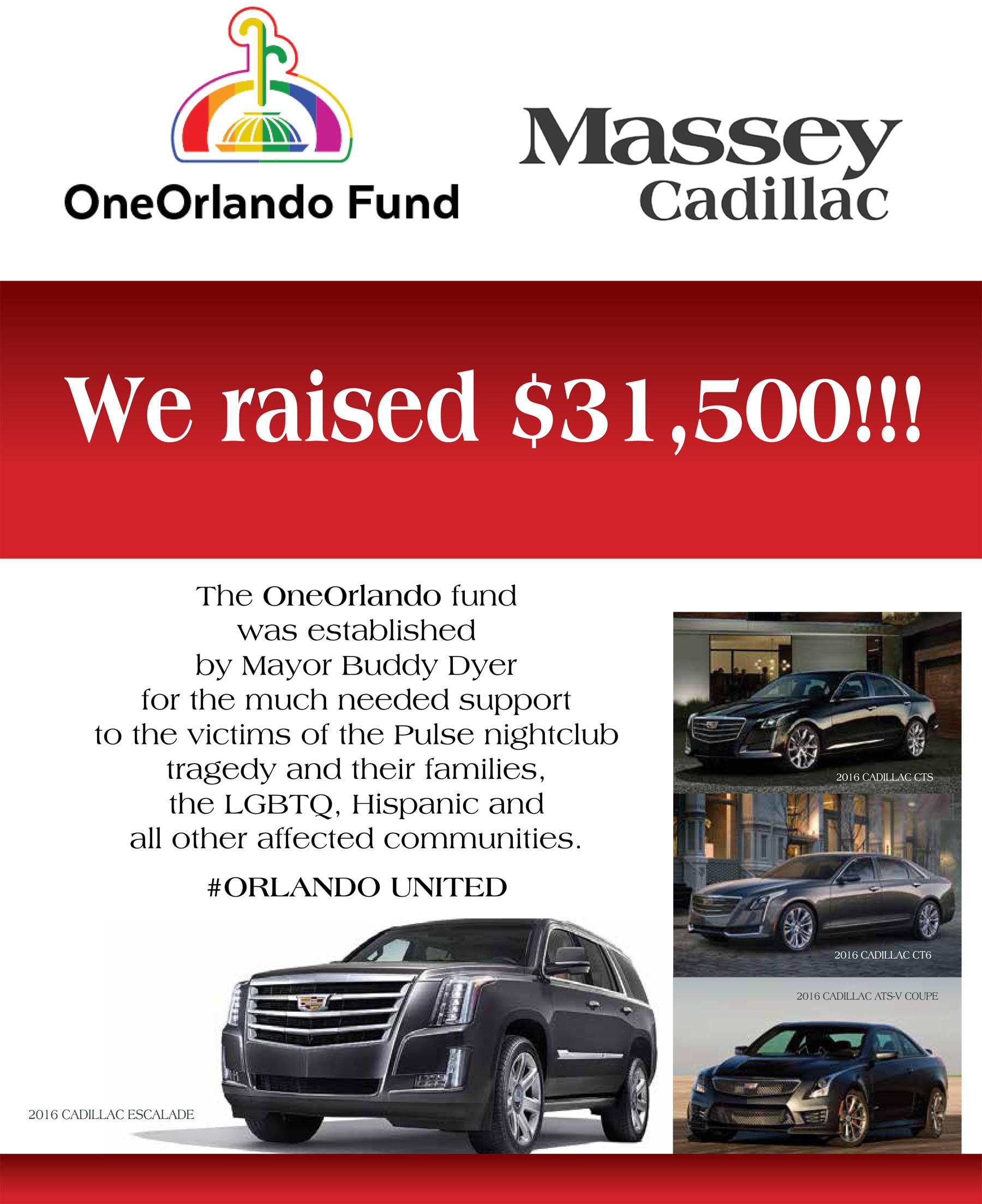 community events blog post list massey cadillac of orlando. Cars Review. Best American Auto & Cars Review
