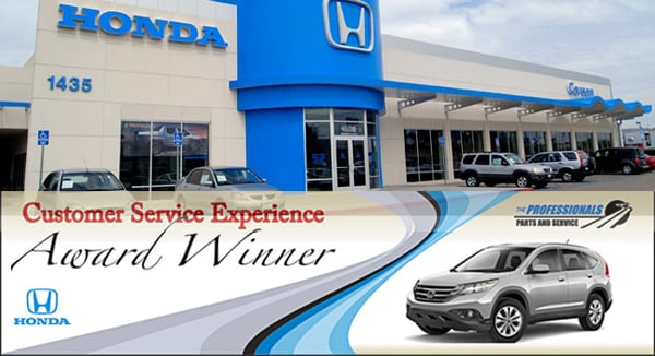 Honda service car repairs carson honda service center for Honda financial services mailing address