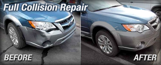 Full Auto Body Repair in Houston