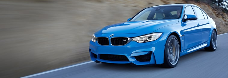 The bmw m3 sedan and m4 coupe at bmw of denver downtown for Murray motors bmw denver