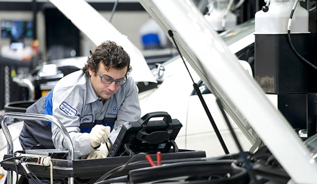 A service b service visits explained at mercedes benz of for Murray motors denver mercedes