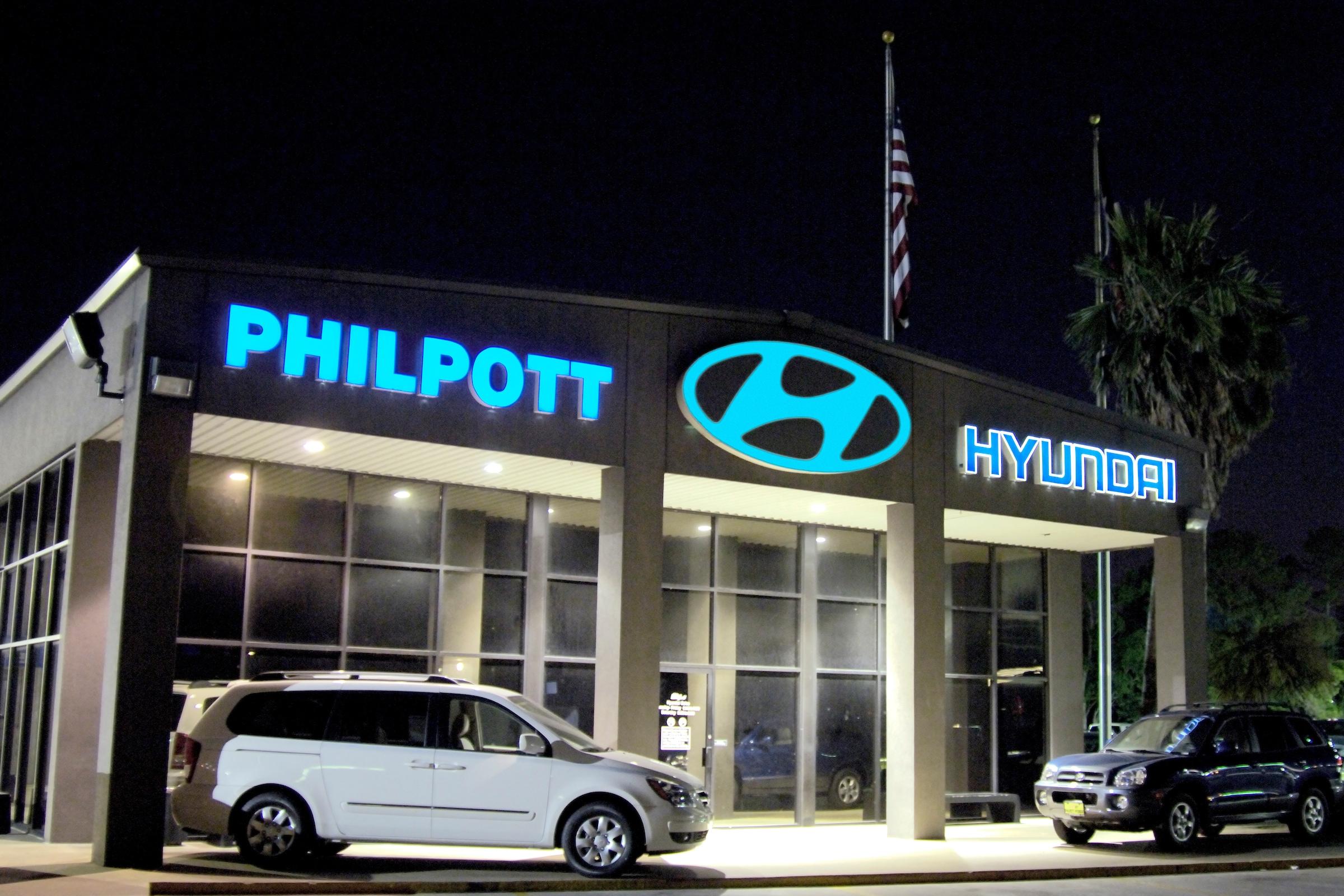 About philpott hyundai your beaumont area hyundai dealership