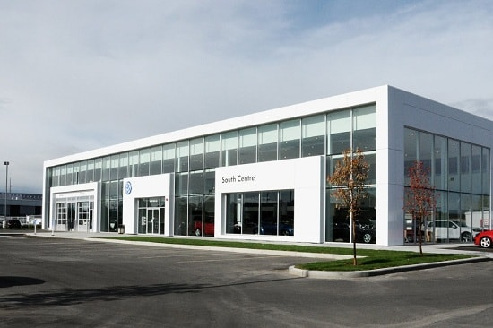 New VW Store Front