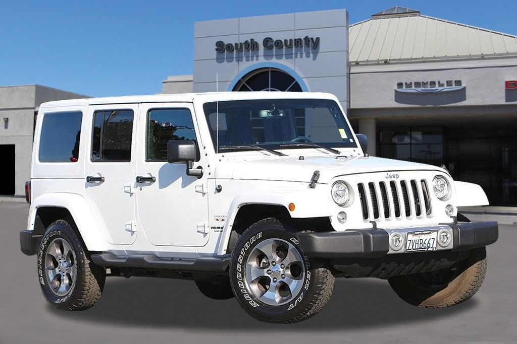 2017 Jeep Wrangler Unlimited Sahara Check out this 2017 Demonstrating that economical transportat