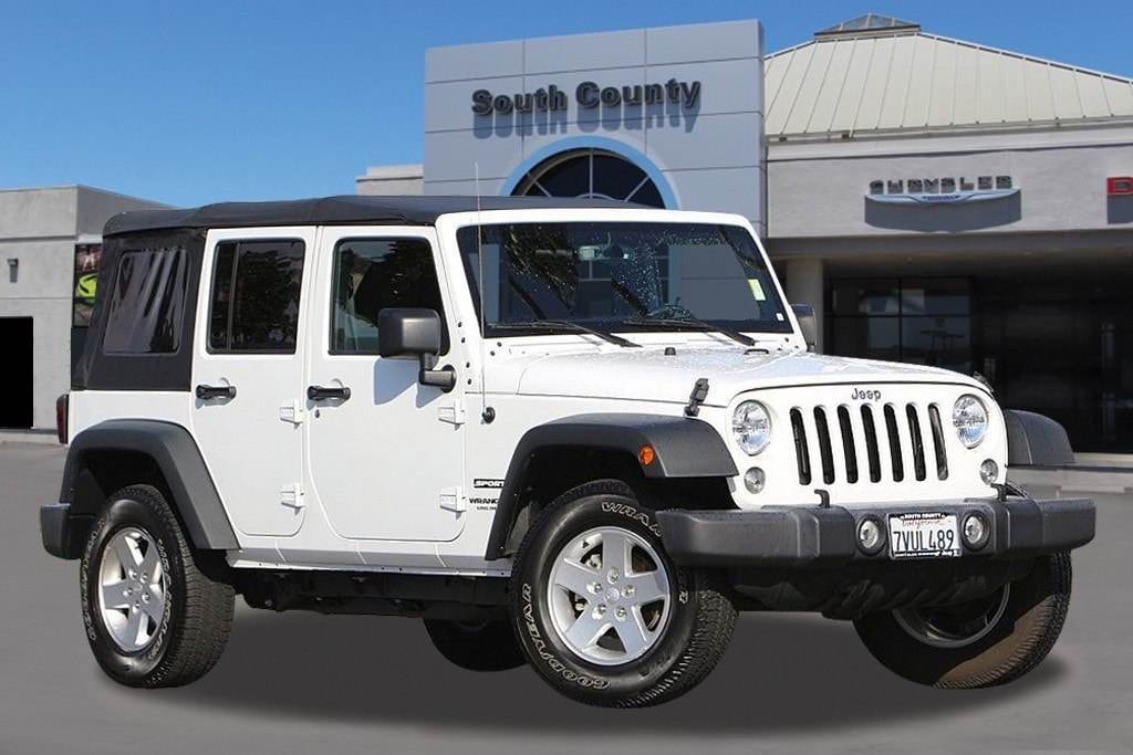 2016 Jeep Wrangler Unlimited Sport Introducing the 2016 Jeep Wrangler Unlimited The safety you ne
