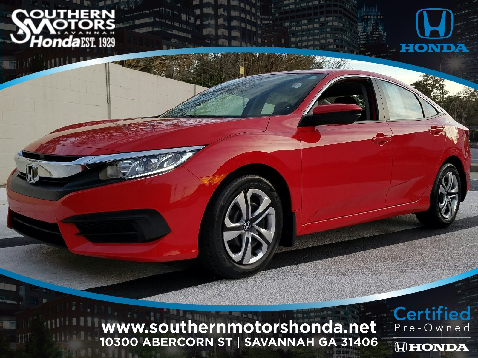 2017 Honda Civic New