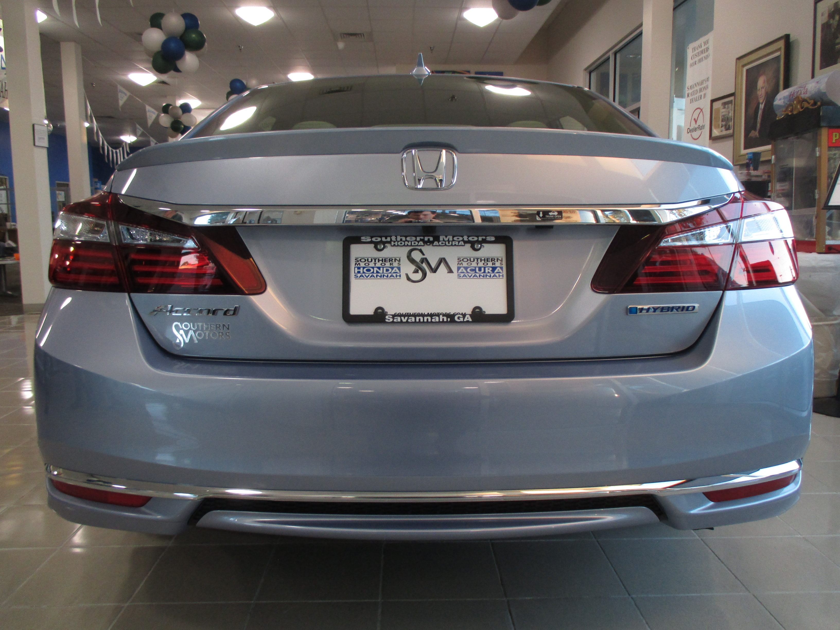 New 2017 Honda Accord Hybrid Savannah Jhmcr6f32hc011873