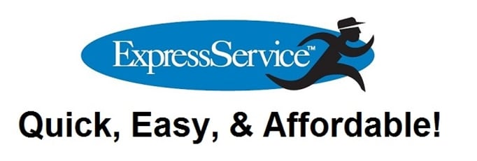 banner for the Express Auto Service Department at Balise Honda of West Warwick