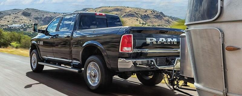 2017 Ram 2500 Rear