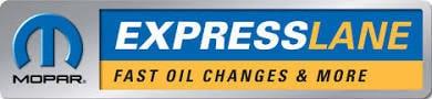 Mopar express lane at Speedway Auto Group near Kansas City