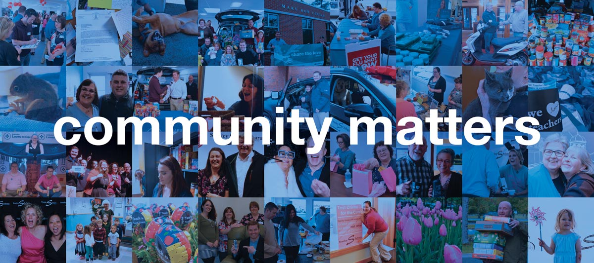 community matters. apply to be part of ours.