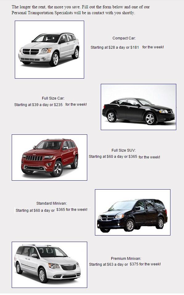 Four Starr Auto Rental Norfolk Suffolk Va Starr Motors