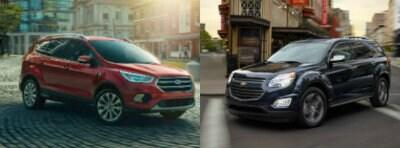 2017 Ford Escape vs Chevy Equinox