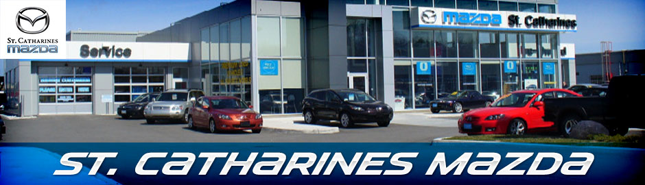 St. Catharines Mazda Dealership store front