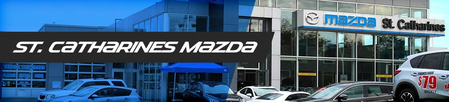 St. Catharines Mazda Dealership banner