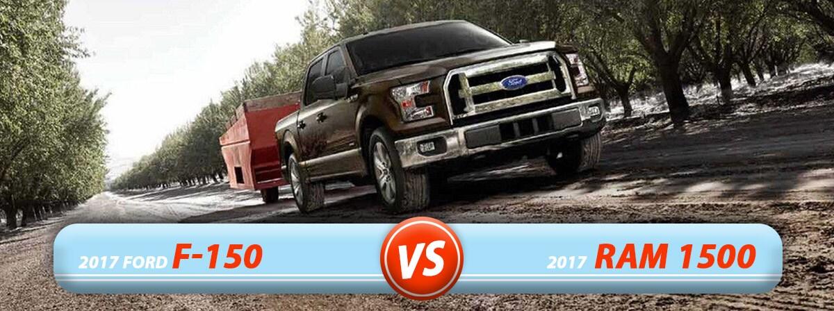 New Ford F-150 vs. New Ram 1500 in Burlington NC